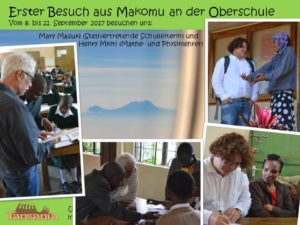 2017 - Makomu - Erster Gegenbesuch