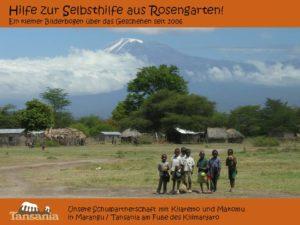 Seit 2006 - Hilfe zur Selbsthilfe aus Rosengarten