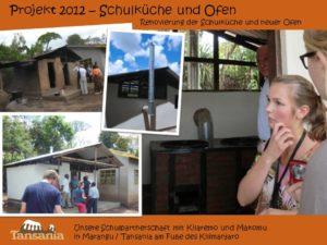 Projekt 2012 - Schulküche und Ofen