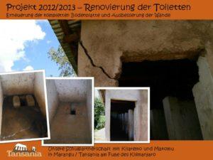 Projekt 2012/2013 - Renovierung der Toiletten