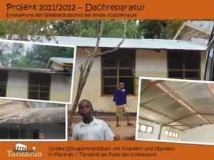 Projekt 2011/2012 - Dachreparatur