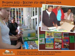 Projekt 2012 - Bücher für den Unterricht